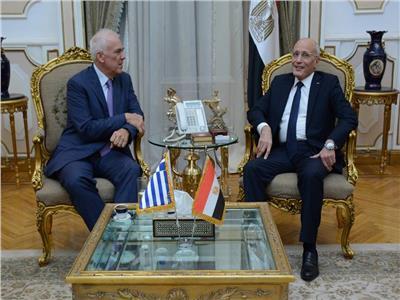 «العصار» يبحث مع سفير اليونان سبل التعاون المشترك