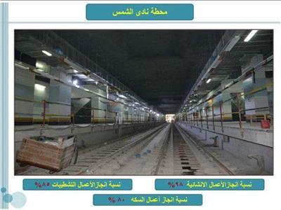 شاهد  أول صور لمحطات مترو «مصر الجديدة»