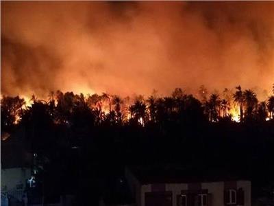 الصحة: ٢٢ مصابا تماثلوا للشفاء ولا وفيات في حريق الوادي الجديد