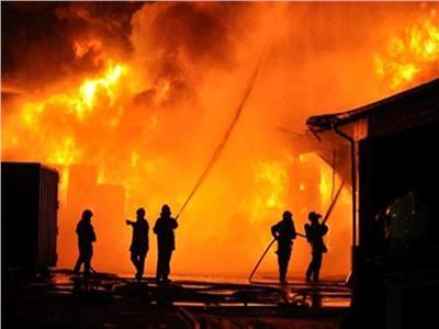 ارتفاع مصابي حريق الراشدة إلى 29 شخصا بالوادي الجديد