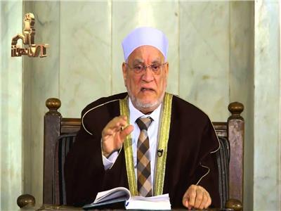 بعد شائعة وفاته| أحمد عمر هاشم يلقي كلمة ذكرى أكتوبر في الحسين
