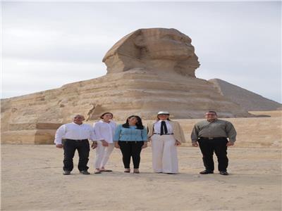 رانيا المشاط: زيارة ميلانيا ترامب لمصر ستسهم في زيادة أعداد السياح