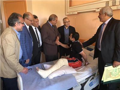 «المحرصاوي» يوجه بافتتاح مستشفى جامعة الأزهر التخصصي خلال شهرين