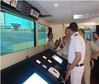 صور| وفد «شرطة المسطحات» يزور «النقل النهري» لبحث تبادل الخبرات