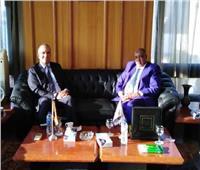 «السويدي» يستقبل رئيس لجنة الاستثمار بالمجلس الوطني السوداني