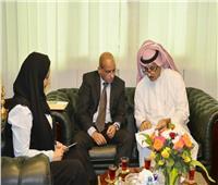 الملحق الثقافي السعودي يستقبل مدير الخطوط الجوية السعودية بالقاهرة