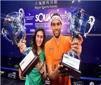 تأهل محمد الشوربجي ونور الشربيني لقبل نهائي بطولة أمريكا المفتوحة للإسكواش