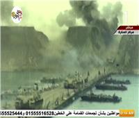فيديو  الرئيس السيسي يشاهد فيلمًا تسجيليًا عن حرب أكتوبر