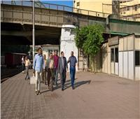 رئيس السكة الحديد يتفقد محطة مصر ويشدد على ضرورة تحسين الخدمة
