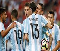 تعرف على تشكيل الأرجنتين أمام العراق في «السوبر كلاسيكو»