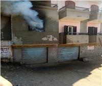 نشوب حريقين في مصنع للزيوت ومحل ملابس في الدقهلية