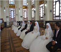 إشهار زواج ٢٢ عروسا من الأيتام بمسجد الميناء الكبير في الغردقة