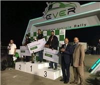 «هندسة عين شمس» تتصدر رالى القاهرة الأول للسيارات الكهربائية