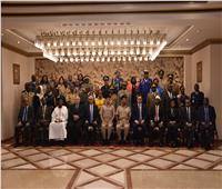 ختام دورات الدارسين الوافدين بالمنشأت والمعاهد التعليمية بالقوات المسلحة