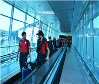 بعثة المنتخب الوطني تطير إلى سوازيلاند.. صور