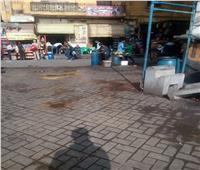 قنابل موقوتة.. شاهد «أنبوبة» و«طاسة» علي مدخل محطة مصر