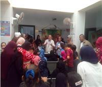 توقيع الكشف الطبي المجانى على 2189 مواطنا بقرية بالشرقية