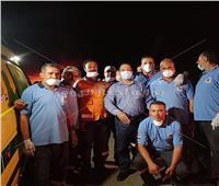 مدير مرفق الإسعاف: 11 سيارة لنقل مصابي حريق شبين الكوم للمستشفيات