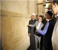 صور| رئيس جمهورية تتارستان يزور الجامع الأزهر