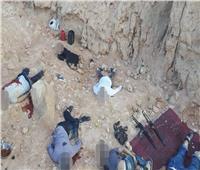 بالصور| الداخلية: تصفية 9 إرهابيين مُسلحين بطريق أسيوط - سوهاج