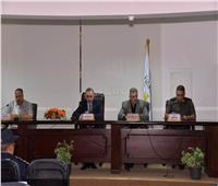 محافظ أسيوط يترأس الاجتماع التنسيقي لتوزيع مهام سيناريو إدارة الأزمات
