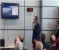 أحمد جنينة يستعرض إمكانيات مطار سفنكس الدولي