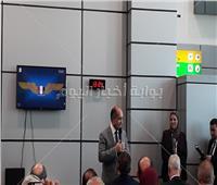 وزير الطيران المدنى يشهد الإفتتاح التجريبى لمطار سفنكس الدولي