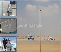 فيديو وصور| مطار سفنكس الدولي.. «أبواب السماء» تفتح لخدمة المناطق السياحية بالأهرامات