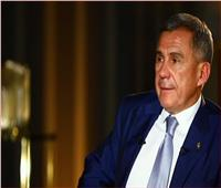 رئيس تتارستان الروسية: مصر دولة قوية ولها ثقل في الشرق الأوسط