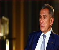 رئيس تتارستان:السيسي وبوتين يعملان من أجل استقرار المنطقة