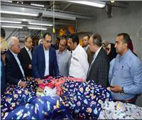 رئيس الوزراء يتفقد مشروع إنشاء 44 عمارة سكنية بقرية النور في بورسعيد