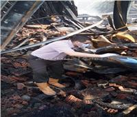 نتيجة الأدلة الجنائية: إهمال عمال مخزن الإطارات بشبين الكوم سبب الحريق