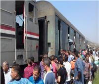 تعطل حركة قطارات الصعيد في بني سويف