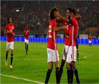 مصر تتقدم على سويزيلانت بهدف «حجازي»