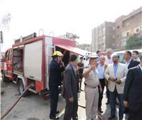 السيطرة على حريق محدود بمحكمة القضاء الإداري في طنطا