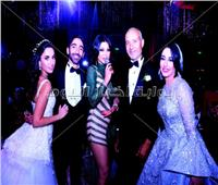 صور| هيفاء تتألق بـ«الأخضر» في حفل زفاف.. وجوهرة تُشعل الأجواء