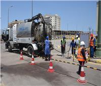 محافظ الإسكندرية يكلف مسئولي الصرف الصحي بالاستعداد لموسم الأمطار