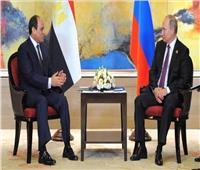 الرئيس السيسي يبحث مع «بوتين» عودة السياحة الروسية