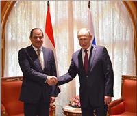 نص كلمة الرئيس السيسي بالمؤتمر الصحفي المشترك مع«بوتين»