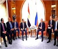 تفاصيل القمة المصرية الروسية بين السيسى وبوتين