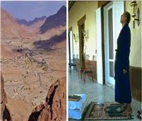 حكايات| مزاج «السادات» في وادي الراحة.. الجلباب وختم القرآن وزيارة الدير