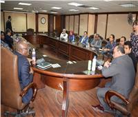 «الصالحى» يلتقى ممثلى السفارات فى ختام دورة الإعلاميين الأفارقة