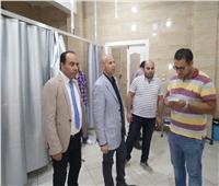 وكيل صحة الشرقية يفاجئ مستشفى ههيا بزيارة مسائية