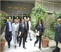 وفد من وزارة الصحة الموريتانية يزور معهد ناصر للبحوث والعلاج