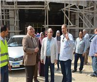صور| رئيس المترو يتفقد أعمال تطوير محطة المرج الجديدة
