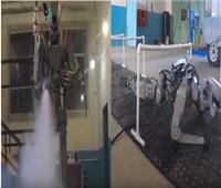 فيديو| روبوت روسي مسلح جاهز للمعارك