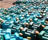 ضبط 21 طن مواد بترولية قبل بيعها في السوق السوداء بالقليوبية