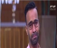فيديو| بكاء محمود الليثي بعد سرد قصة دخوله التمثيل
