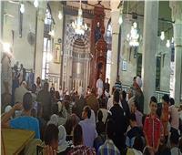 شوقي علام وعلى جمعة يؤديان صلاة الجمعة في ختام احتفالات السيد البدوي