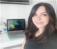 الكاتبة إنجي علاء في ألمانيا للعلاج